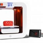 Objets imprimés avec l'imprimante 3D Cubify Ekocycle Cube