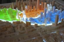 Matérialisation des quartiers par le projecteur