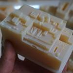 Bloc imprimé en 3D à 16 microns!