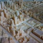 Quartier SoMa de San Francisco imprimé en 3D