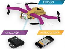 AirLeash de l'AirDog imprimé en 3D