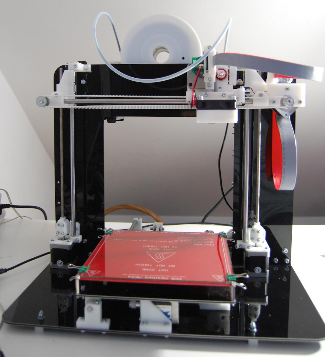 soir e sp ciale imprimante 3d au techlab prusa mendel 90. Black Bedroom Furniture Sets. Home Design Ideas