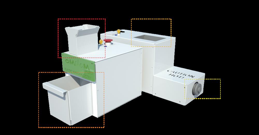 Recycler le plastique pour faire du filament d 39 imprimante 3d - Machine pour recycler le plastique ...