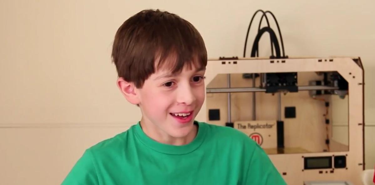 Un brevet pour imprimante 3d d pos par un enfant de 15 ans - Imprimante 3d enfant ...