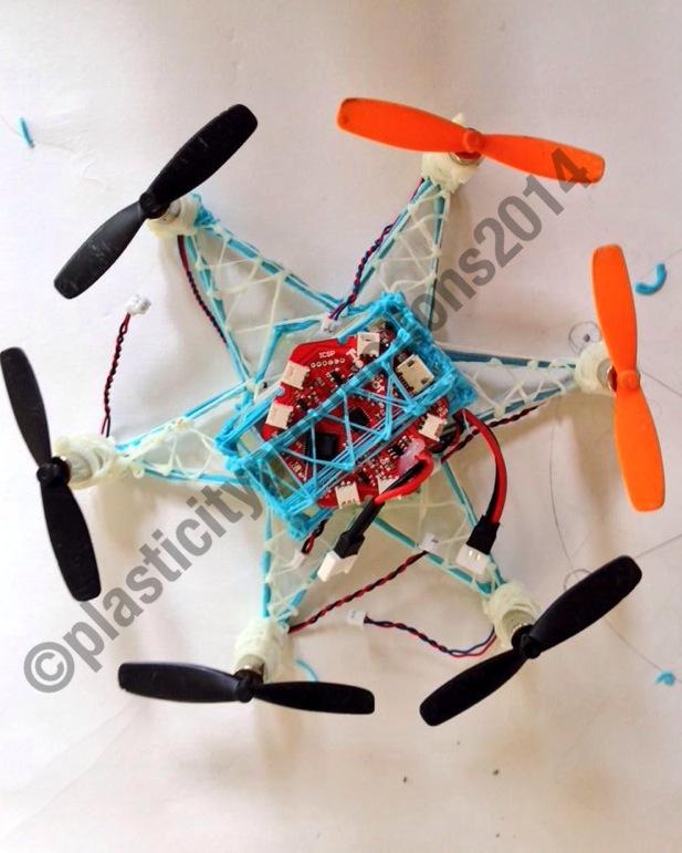 3Doodler drone hexacopter
