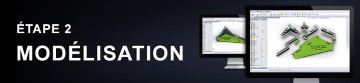 Création d'un objet de communication en 3D - étape 2