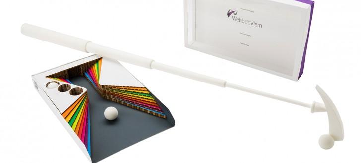 Winner&Starpack mini golf imprime en 3D