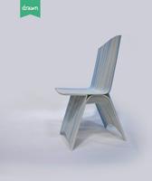 Chaise design imprimée en 3D par Galatéa