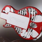 photo guitare électrique imprimée en 3D