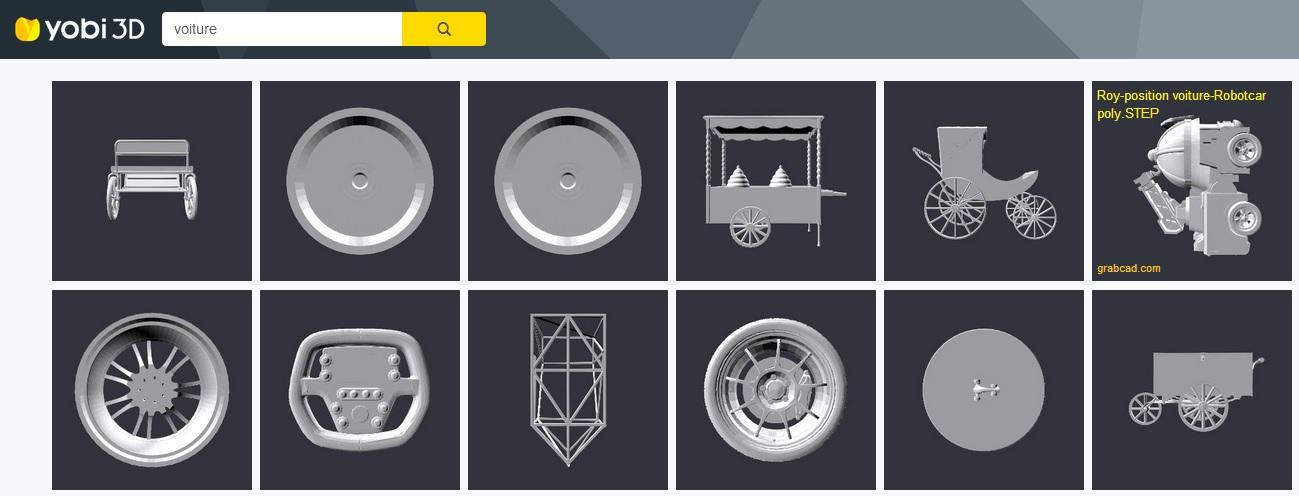 Trouver des objets 3d en ligne for Trouver des plans en ligne