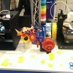 Objets imprimés en 3D durant le 3D Tour au Carrefour des Ulis (91)