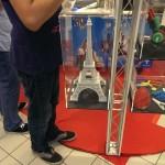 Tour Eiffel imprimée sur place en 33 heures