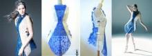 Robe SHIGO imprimée en 3D avec un stylo 3D