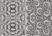 Les coquillages de la robe SHIGO imprimée en 3D