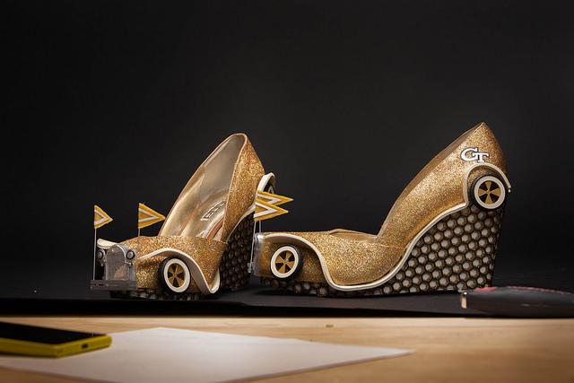 Chaussures Ford A imprimées en 3D