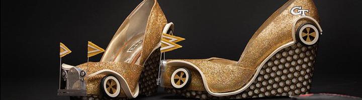 chaussures imprimées en 3D miss america
