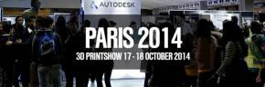 Concours 3D Printshow 2014