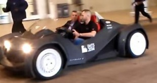 photo video Strati premiere voiture roulante imprimee en 3D