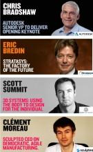3Dprintshow Paris 2014 speakers