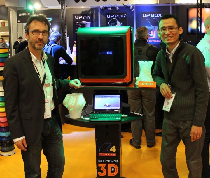Etienne Bernot et Andrew Qin présentent l'UP! Box