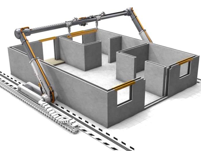 M tiers du futur imprimeur de maisons les imprimantes 3d for Construction en 3d