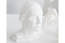 Puzzle 3D statue George