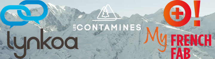 Partenariat Les Contamines, Lynkoa et MyFrenchFab