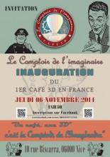Invitation inauguration Comptoir de l'imaginaire