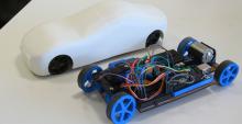 Cardiono, la voiture arduino imprimée en 3D