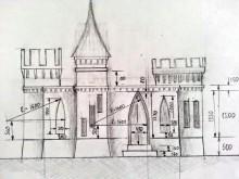 photo chateau imprimé en 3D