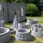 photo chateau imprimante 3D