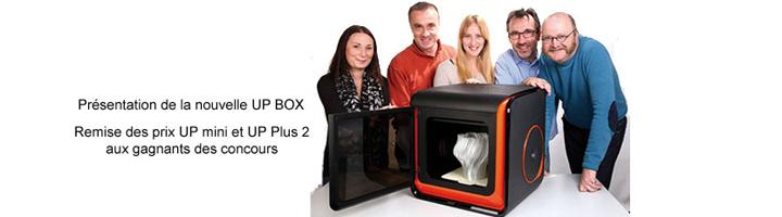 Bannière invitation A4 UP Box