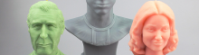 Bannière selfie bougie 3D