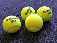 photo balles de tennis