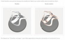 Rendu des bijoux 3D