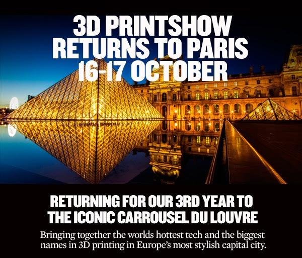 3D Printshow Paris 2015 Louvre