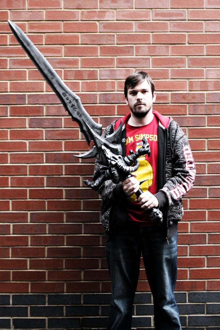 World of Warcraft épée Frostmourne
