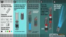 Notice de montage du sabre laser de Star Wars VII imprimé en 3D