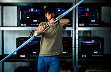 Test du sabre laser de Star Wars VII imprimé en 3D