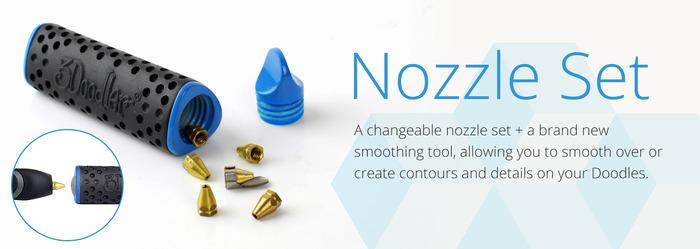 Accessoires 3Doodler 2.0 Nozzle Set