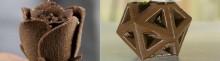 Chocolats imprimés en 3D avec CocoJet