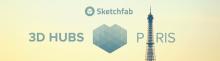 Meetup 3D Hubs et Sketchfab à Paris Numa