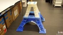 Pieds de la tour Eiffel imprimée en 3D