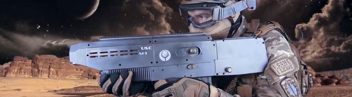 Test M-1 Enforcer, pistolet à bille imprimé en 3D