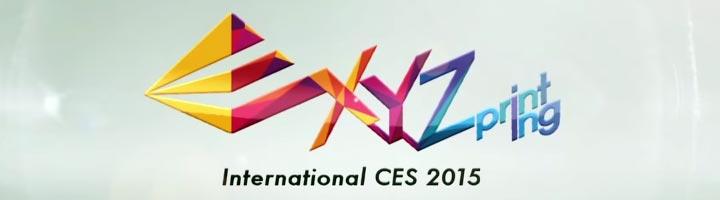 photo imprimante 3D XYZprinting CES 2015