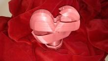 Boite en forme de coeur à imprimer en 3D by MakerShop
