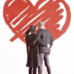 Couple à la Saint Valentin imprimé en 3D