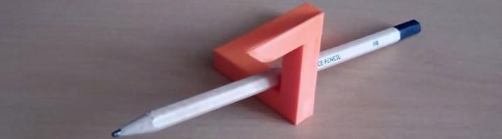 Triangle de Penrose imprimé en 3D