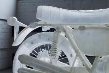 photo moto Honda CB500 imprimée en 3D