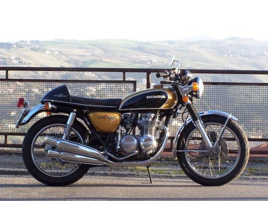 photo moto Honda CB500 1972